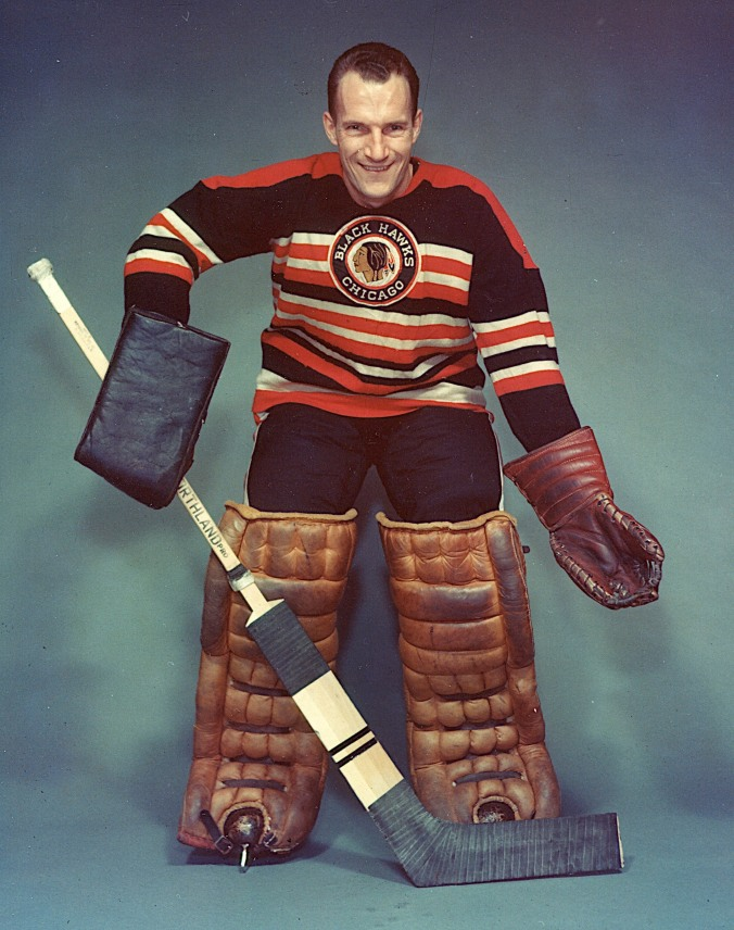 "The Thin Man: Chicago was Al Rollins's second stop as an NHL goaltender, before he ended up with the New York Rangers in 1960. As a rookie in Toronto, sharing the net with Turk Broda, he was playing so well that Conn Smythe wasn't sure what to do. ""It's a tough one,"" Smythe told the newspapermen. ""I've got to decide whether to keep the thin man in there and let him get thinner or whether to go back to the thinned-down fat man."" The year before, Smythe famously benched Broda mid-season until he dropped he'd dropped seven of his 197 pounds. ""Pudgy,"" the reporters were still calling him, though they noted that he was down to 180 now."