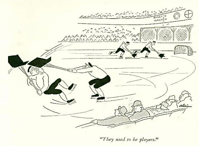 (Daniel Brustlein, aka Alain, The New Yorker, February 16, 1935)