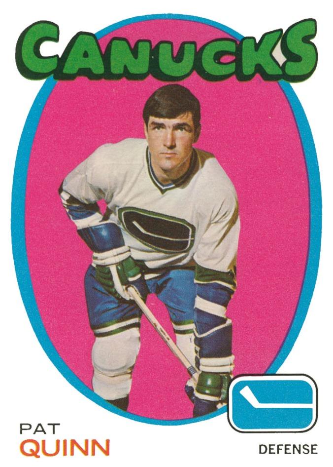 1971-72 O-Pee-Chee #122 Pat Quinn