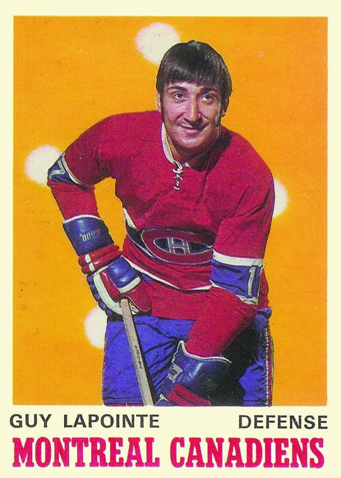 1970-71 O-Pee-Chee #177 Guy Lapointe