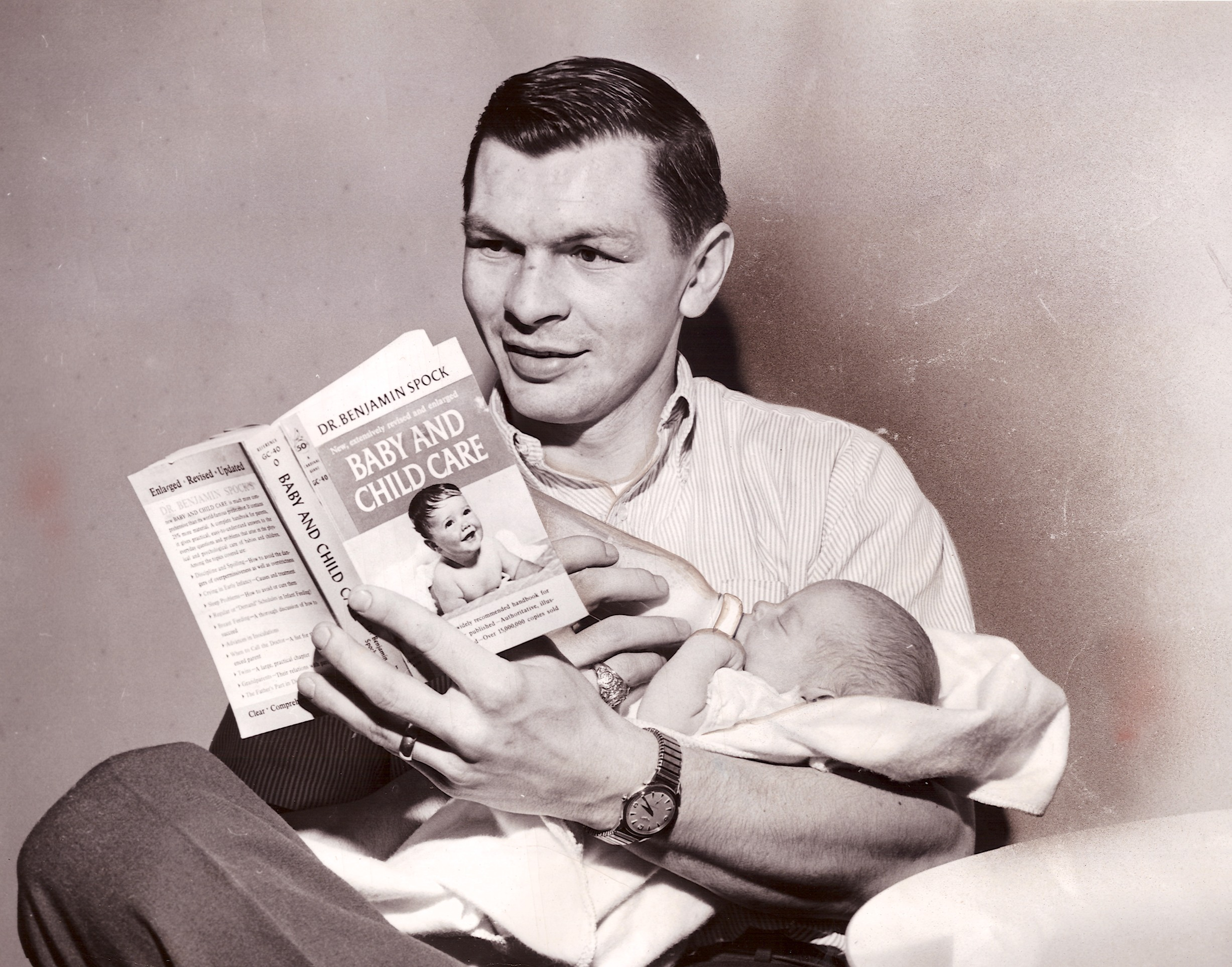 books that hockey players read  stan mikita and dr. spock  b86cf0252