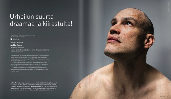 Dante Redux: Finnish former irksome winger Jarkko Ruutu published a memoir last week.