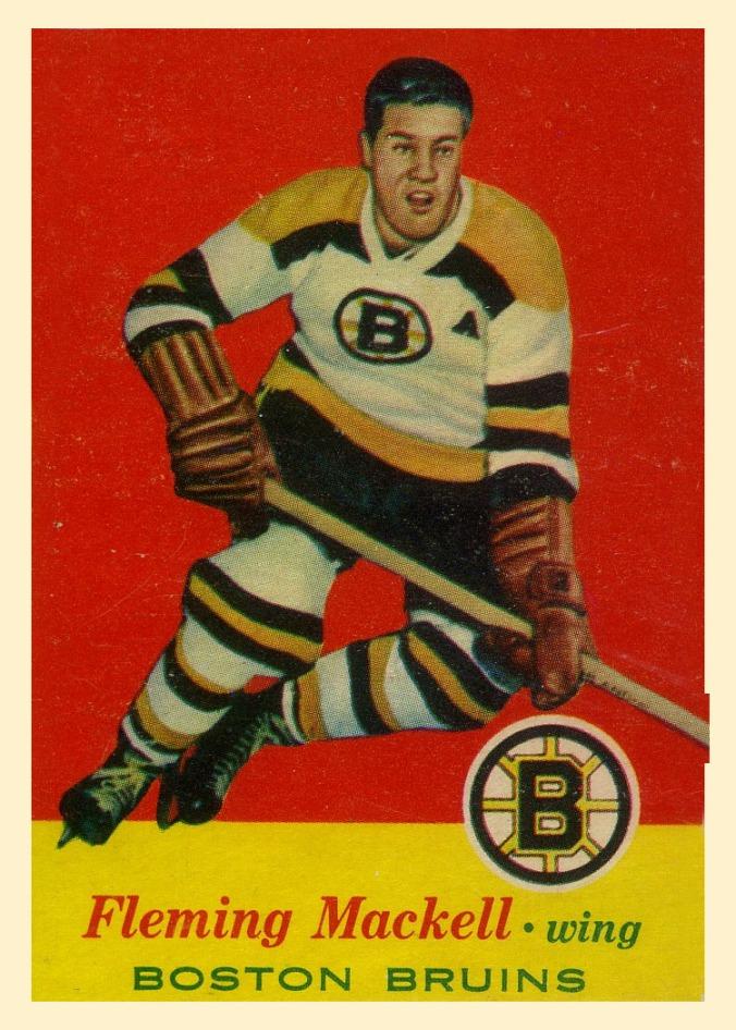 O-Pee-Chee / Topps 1957-58 Topps #16 Fleming Mackell