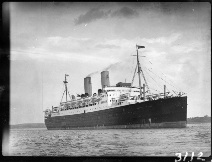The Duchess of Atholl at Quebec in 1930. Credit: Clifford M. Johnston/Library and Archives Canada/PA-56403