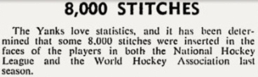 Australia's Sydney Sun-Herald reports on the Yanks and their hockey, circa 1976.