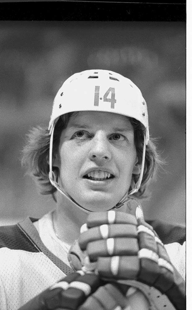 Date: April 24, 1977 Heading: Hockey 1964-1979 Caption: Ulf Nilsson Call Num: PC 18-6669-001neg