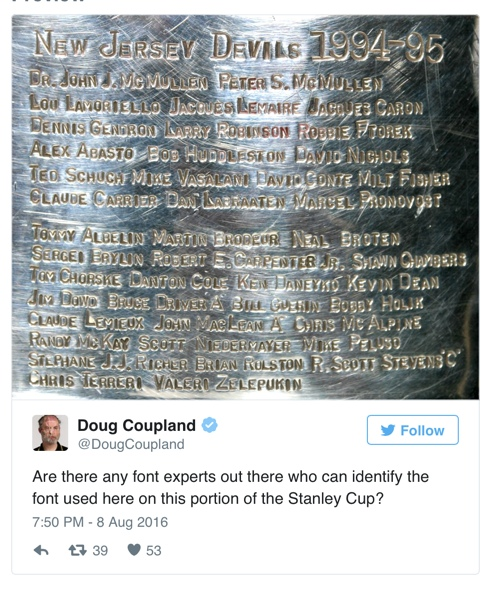 coupland cup