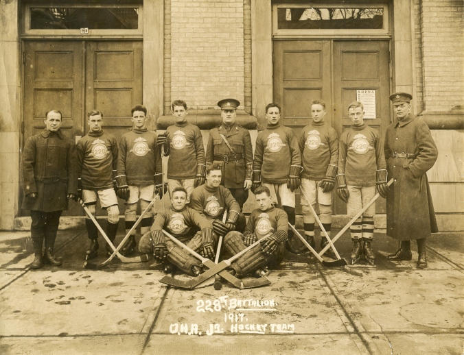 23-4-4-228th-battalion-1917-o-h-a-jr-hockey-team