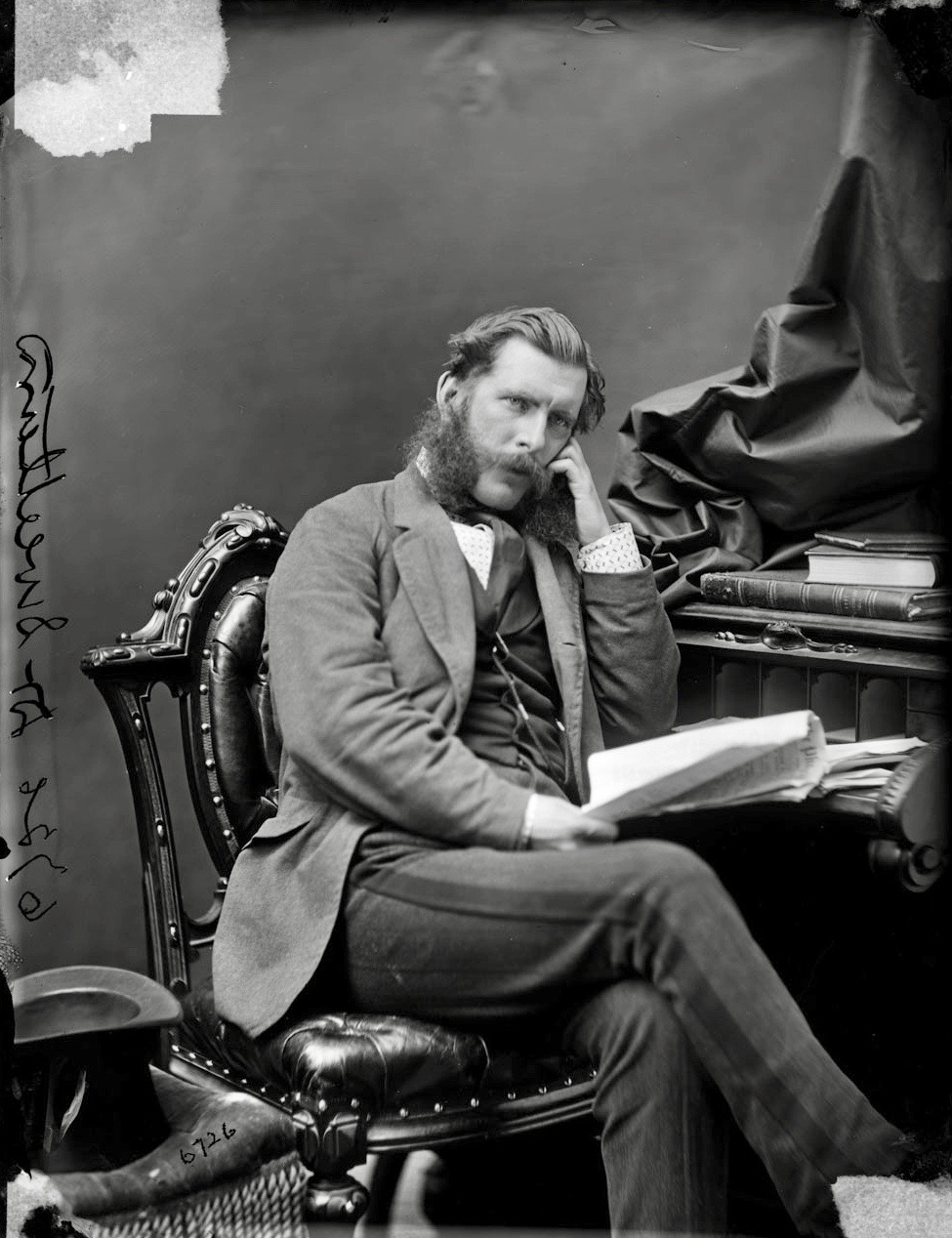 Trustee John: Dr. Sweetland in thoughtful repose in 1870, before the  distinguished Ottawa surgeon took up his role as one of the Stanley Cup's  original ...